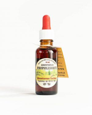 Ahotuvan tarhat propolisuute kurkkukipuun, aftoihin, yskänrokkoon ja hyönteisten pistoihin