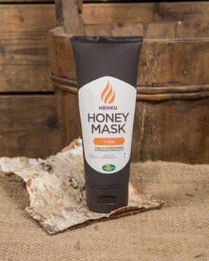 Kuorintavoide honey mask