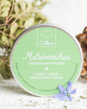 Metsänraikas Deodoranttivoide
