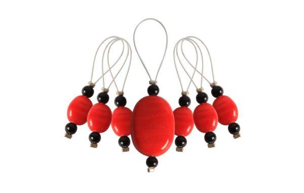 Silmukkamerkit Playful Beads Tangerine