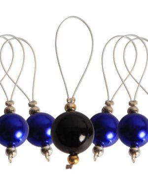 Silmukkamerkit Playful Beads Bluebell