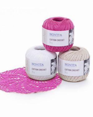 Novita Cotton Crochet puuvillalanka