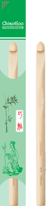 ChiaoGoo bambuinen virkkuukoukku paketti